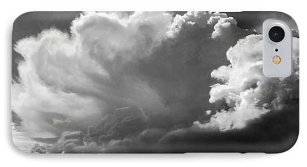 IPhone Case featuring the photograph The Cloud Gatherer by John Bartosik