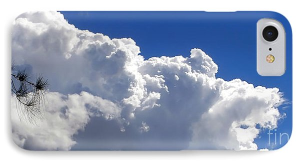 The Cloud Phone Case by Kaye Menner