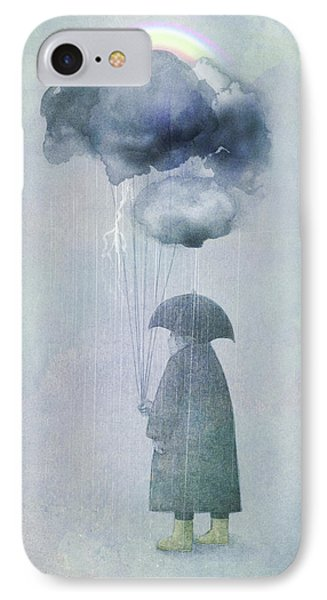 The Cloud Seller IPhone Case by Eric Fan