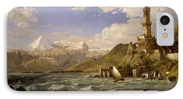 The Coast Of Genoa IPhone Case by Jasper Francis Cropsey