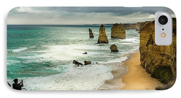 IPhone Case featuring the photograph The Coast by Perry Webster