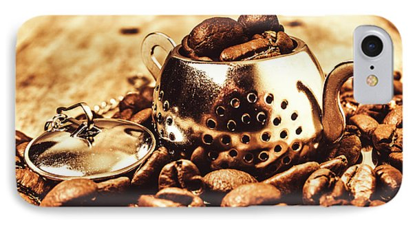 The Coffee Roast IPhone Case by Jorgo Photography - Wall Art Gallery