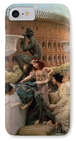 The Coliseum IPhone Case by Sir Lawrence Alma-Tadema