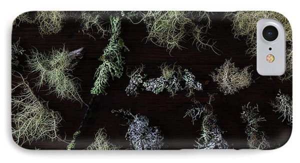 The Collection Of Lichens IPhone Case by Masako Metz