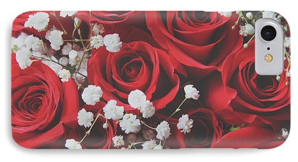 IPhone Case featuring the photograph The Color Of Love by Laurie Search
