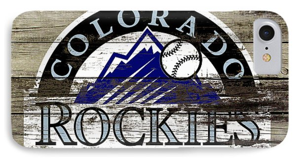 The Colorado Rockies 1a        IPhone Case by Brian Reaves