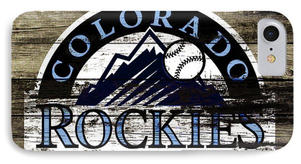 The Colorado Rockies 1c        IPhone Case by Brian Reaves