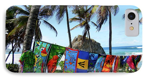 IPhone Case featuring the photograph The Colors Of Barbados by Kurt Van Wagner