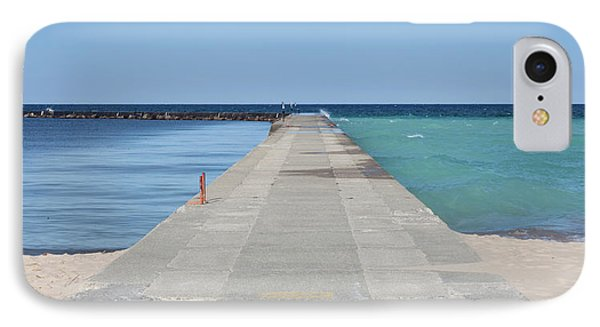 IPhone Case featuring the photograph The Colors Of Lake Michigan by Fran Riley