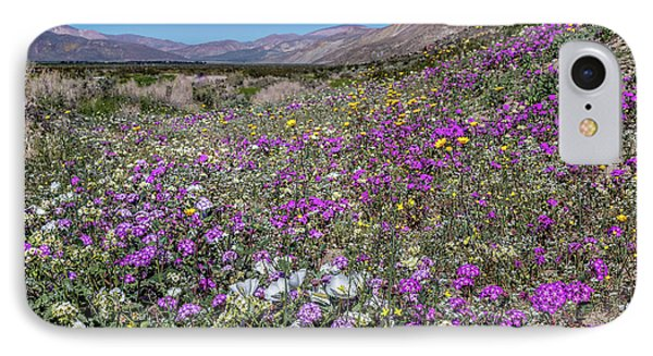 The Colors Of Spring Super Bloom 2017 IPhone Case by Peter Tellone