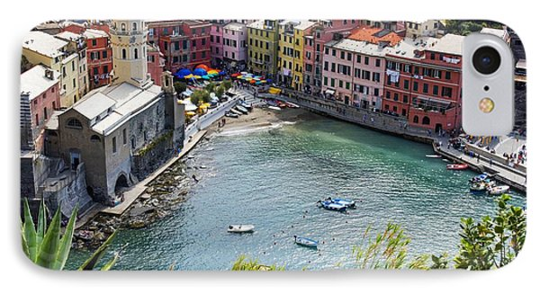 The Colors Of Vernazza IPhone Case by Brad Scott