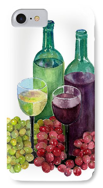 The Colors Of Wine Phone Case by Arline Wagner