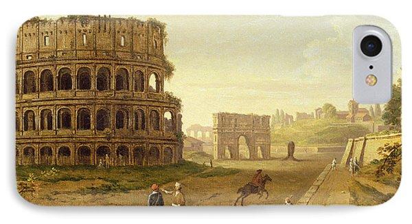 The Colosseum IPhone Case by John Inigo Richards