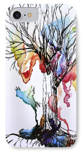 The Colour Tree IPhone Case by Haley Howard
