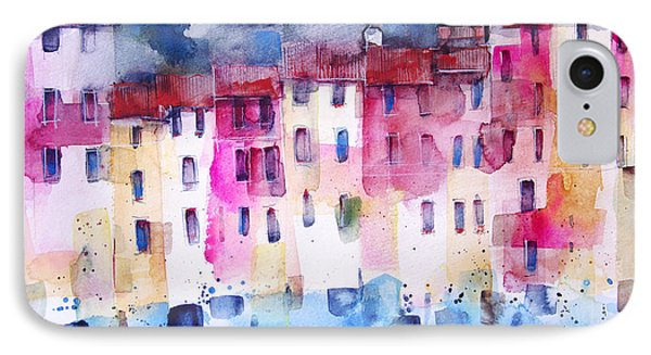 The Coloured Houses Of Portofino Phone Case by Alessandro Andreuccetti