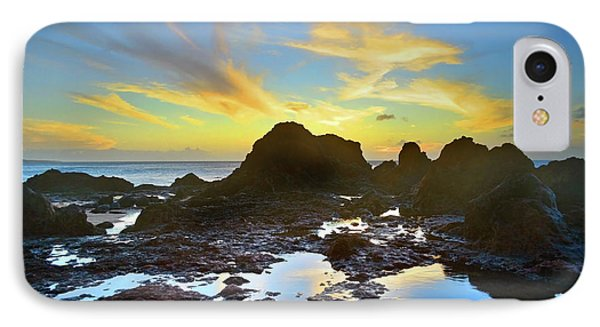 IPhone Case featuring the photograph The Colours Amongst Sea, Sky And Stone by Tara Turner