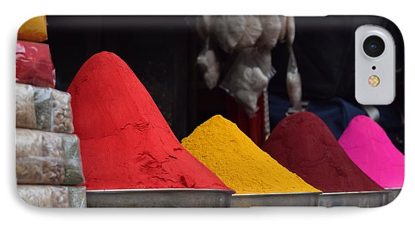 The Colours Of Holi IPhone Case by Mini Arora