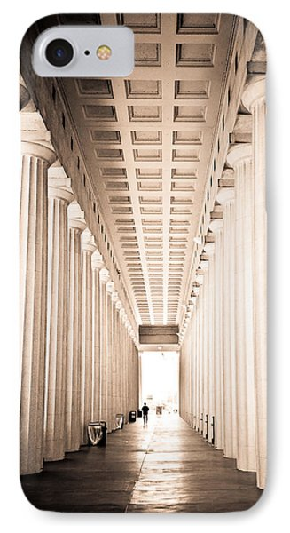 The Columns At Soldier Field IPhone Case