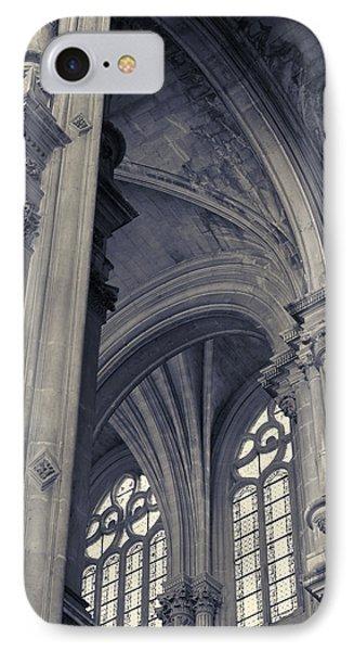 The Columns Of Saint-eustache, Paris, France. IPhone 7 Case