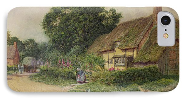The Coming Of The Haycart  IPhone Case by Arthur Claude Strachan