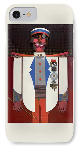 IPhone Case featuring the painting The Commander by Bob Coonts