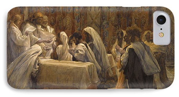 The Communion Of The Apostles Phone Case by Tissot