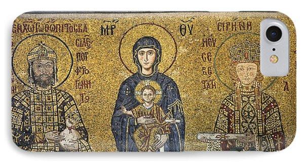 The Comnenus Mosaics In Hagia Sophia Phone Case by Ayhan Altun