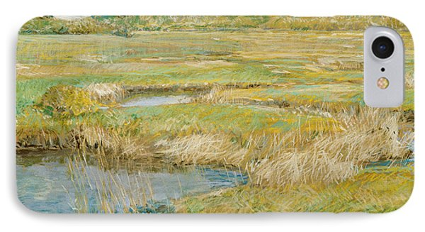 The Concord Meadow IPhone Case by Childe Hassam