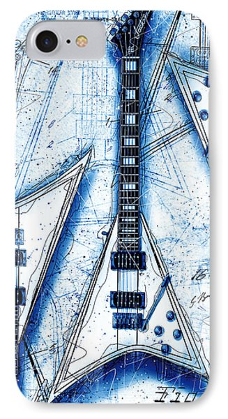 The Concorde Blueprint IPhone Case by Gary Bodnar