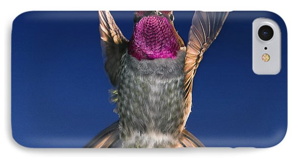 The Conductor Of Hummer Air Orchestra IPhone Case by William Lee