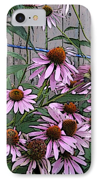 The Coneflowers IPhone Case by Skyler Tipton