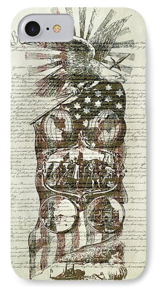 The Constitution Of The United States Of America Phone Case by Dan Sproul