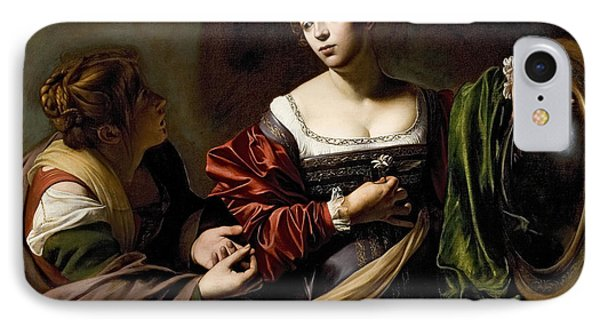 The Conversion Of The Magdalene IPhone Case by Michelangelo Merisi da Caravaggio