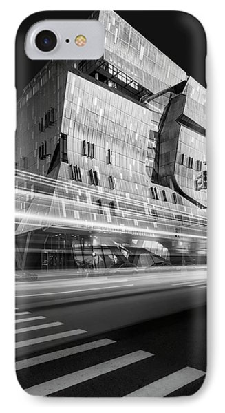 IPhone Case featuring the photograph The Cooper Union Nyc Bw by Susan Candelario