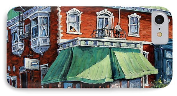 The Corner Market IPhone Case by Richard T Pranke