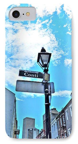 The Corner Of Conti IPhone Case
