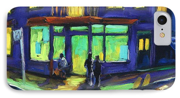 The Corner Store IPhone Case by Richard T Pranke