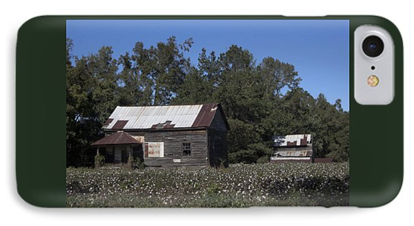 The Cotton Is Not Quite Ready IPhone Case by Suzanne Gaff
