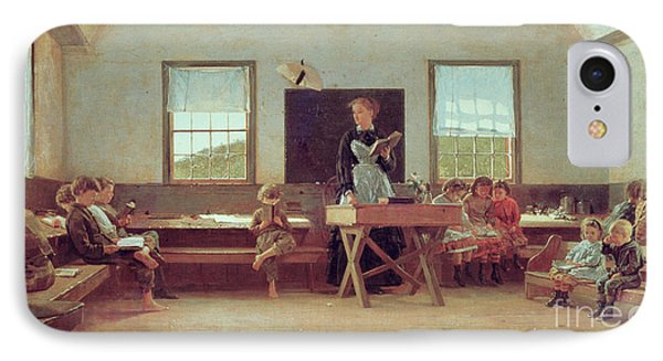 The Country School Phone Case by Winslow Homer