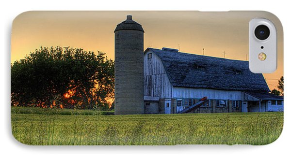 The Country Sunset IPhone Case by Joel Witmeyer
