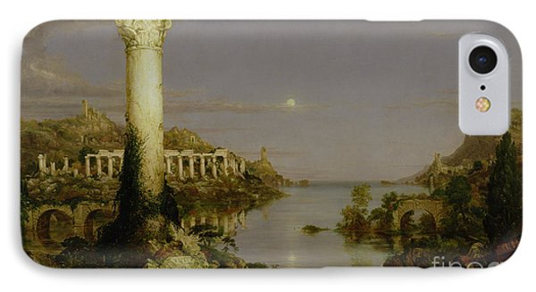 The Course Of Empire - Desolation IPhone Case by Thomas Cole