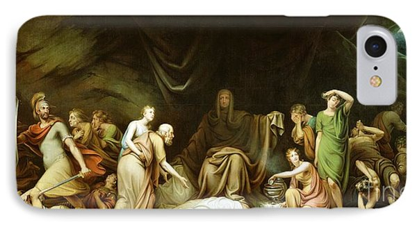 The Court Of Death Phone Case by Rembrandt Peale