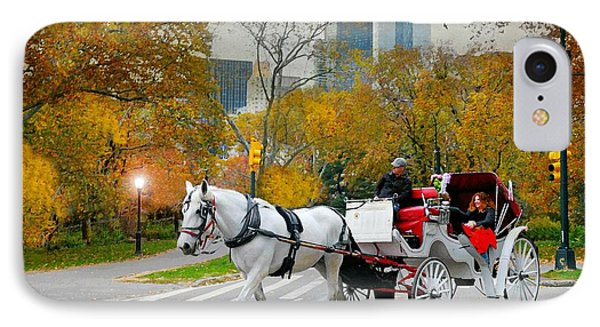 The Covered Carriage IPhone Case