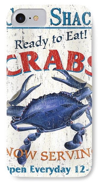 The Crab Shack IPhone Case by Debbie DeWitt