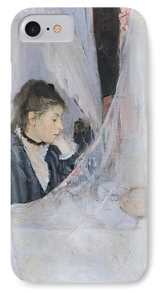 The Cradle Phone Case by Berthe Morisot