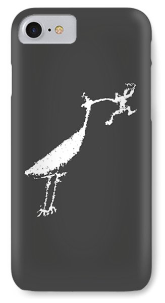 IPhone Case featuring the photograph The Crane by Melany Sarafis