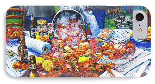 Food And Beverage iPhone 7 Case - The Crawfish Boil by Dianne Parks