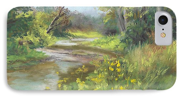 The Creek At 1302 Phone Case by Terri  Meyer