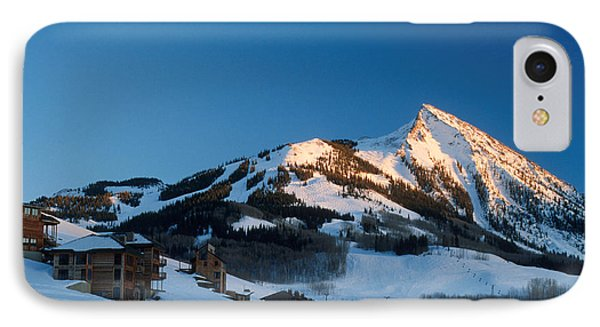 The Crested Butte Phone Case by Jerry McElroy