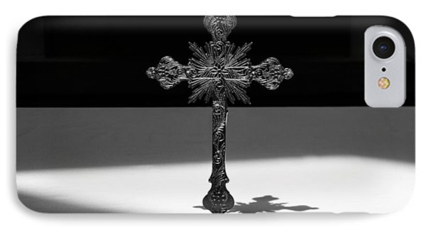 IPhone Case featuring the photograph The Cross's Shadow by Monte Stevens